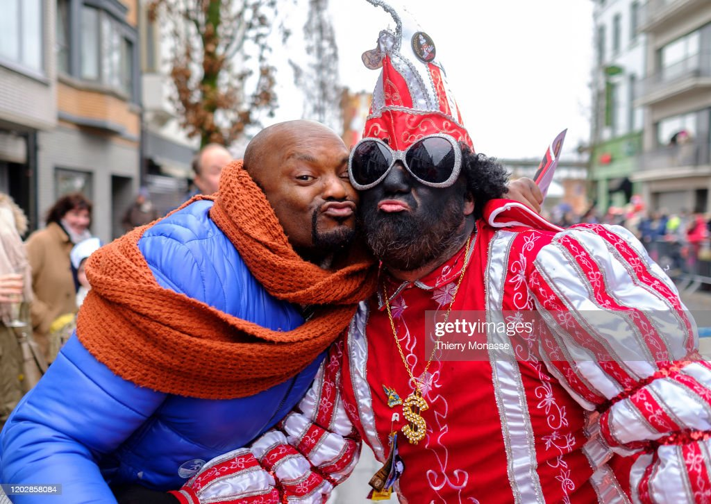Aalst Carnival Goes Ahead Amid Anti-Semitism Controversy : News Photo