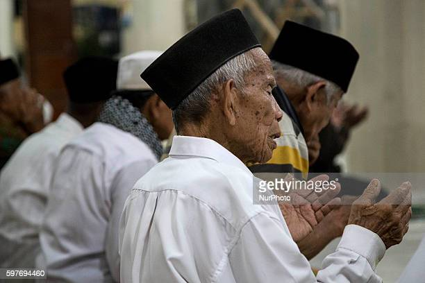 A man praying in Padang West Sumatra Indonesia on 29 August 2016 The latest official estimate for January 2014 shows a population of 5790 West...