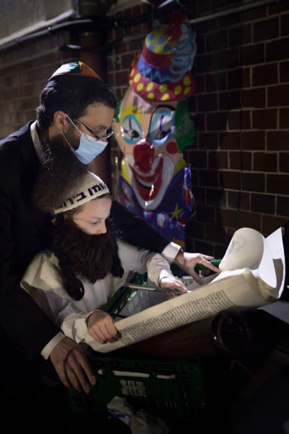 DEU: Chabad Berlin Celebrates Limited Purim During Pandemic