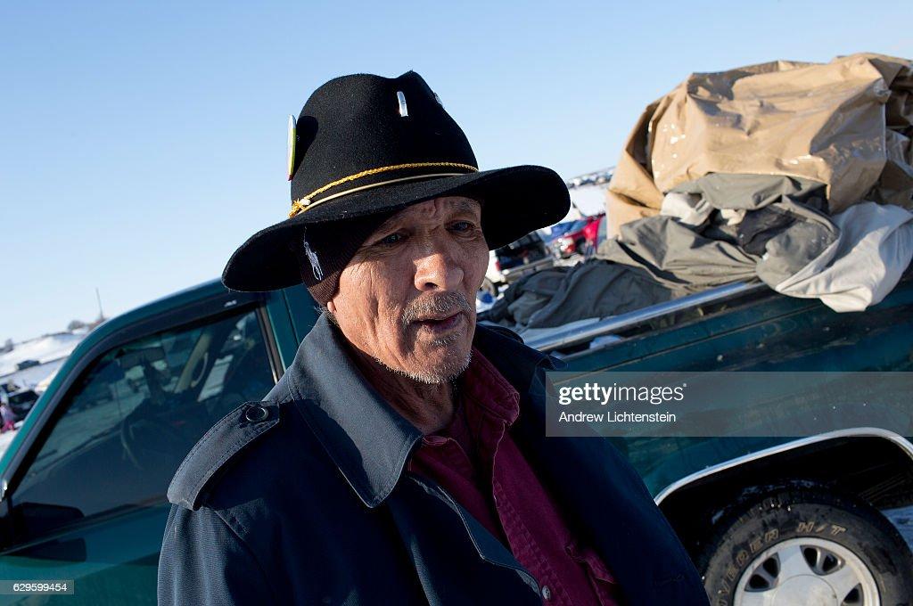 Standing Rock protests against the Dakota Access Pipeline : Nachrichtenfoto