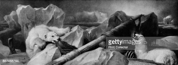 Man Proposes God Disposes' Painting held at the Royal Holloway College University of London London From Bibby's Annual 1912 [J Bibby Sons Liverpool...