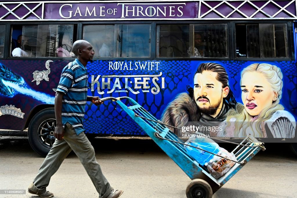KENYA-DAILY LIFE-TRANSPORT-ENTERTAINMENT-FEATURE : News Photo