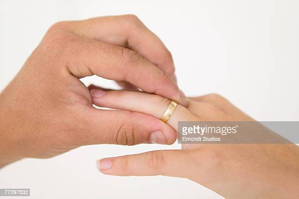 Men Wedding Ring Finger Stock Photos And Pictures