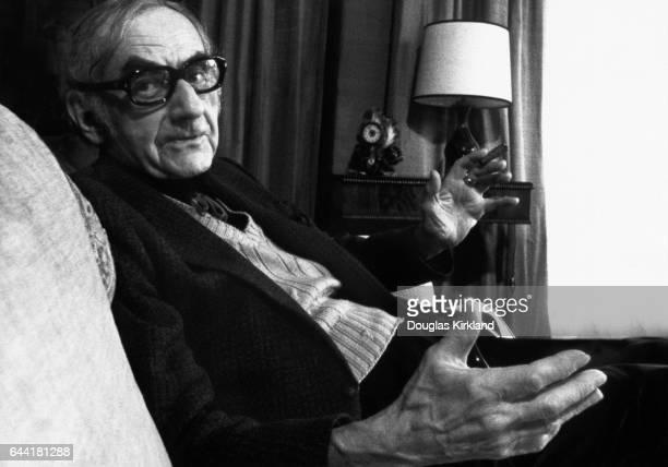 Man Ray, an American photographer, filmmaker, and painter.