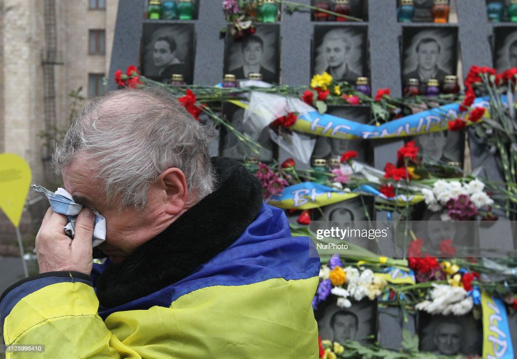 UKR: Ukraine Marks Fifth Anniversary Of Maidan