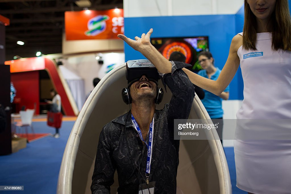 Inside The G2E Asia Global Gaming Expo : News Photo