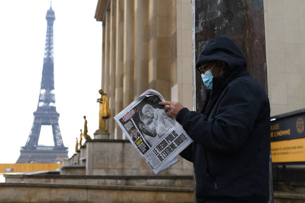 FRA: French Newspapers The Day After Duke of Edinburgh Died