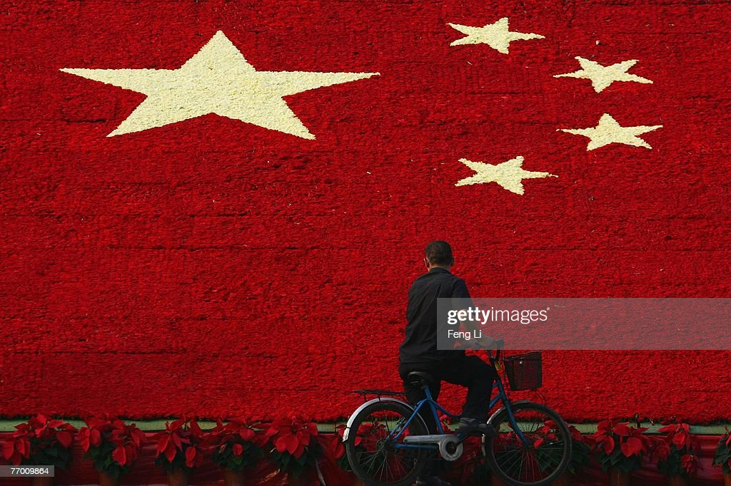 Chinese People Celebrate National Day : News Photo