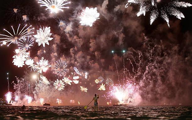 Rio De Janeiro Celebrates The New Year