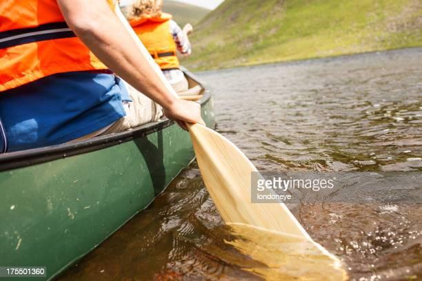 Man Rowing barco