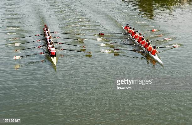 8 homme Course d'aviron-concurrence