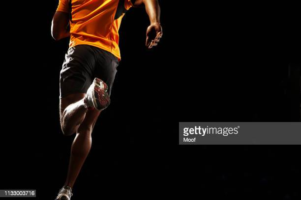 man running - athleticism stock pictures, royalty-free photos & images