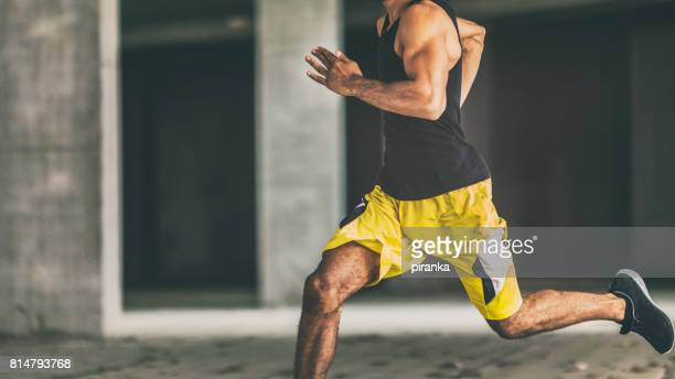 man running - sprinting stock photos and pictures