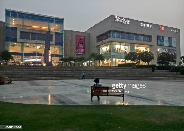 A man seen resting outside the shopping mall in Mohali India Mohali is a small city located in the north eastern part of India In 2018 it is a...