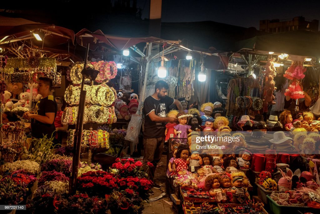A man sells flowers at a store in Taksim Square on July 12, 2018 in Istanbul Turkey. Following Turkey's President Recep Tayyip Erdogan's re-election victory and the appointment of his son-in-law Berat Albayrak to lead the Treasury and Finance Ministry fears are growing that Turkey's economy is heading into crisis . The Turkish Lira, has plunged by approximately one-fifth this year raising prices for businesses and households.