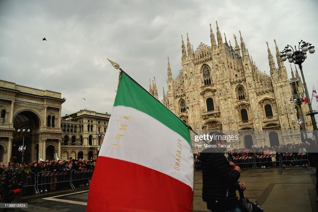 ITA: Italy Marks The 74th Anniversary Of Liberation Day