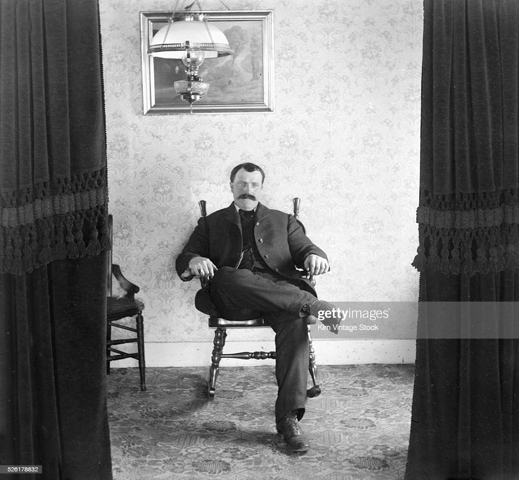 Fine A Man Sits In A Rocking Chair In The Parlor News Photo Pdpeps Interior Chair Design Pdpepsorg