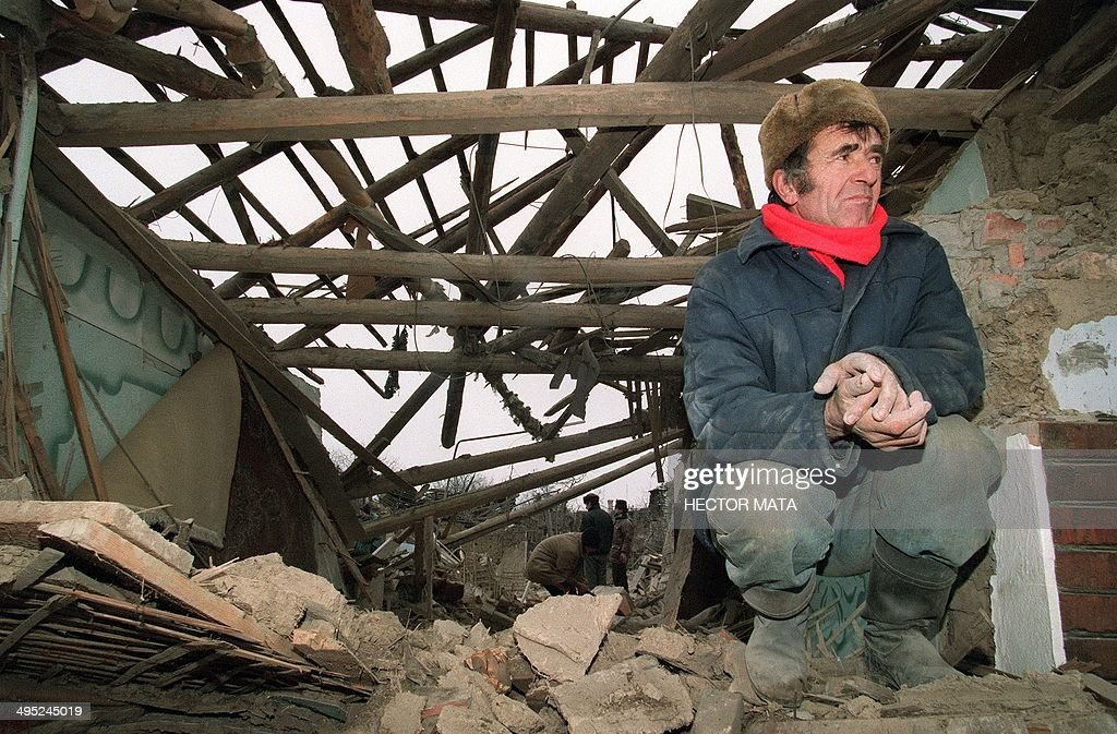 RETRO-CHECHNYA-RUSSIA-BOMBARDMENT-CIVILIANS : News Photo