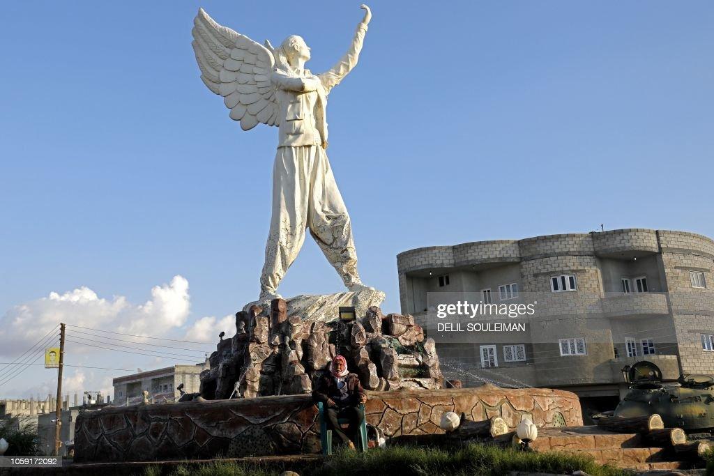 SYRIA-CONFLICT-KURDS-TYRKEY : Nachrichtenfoto