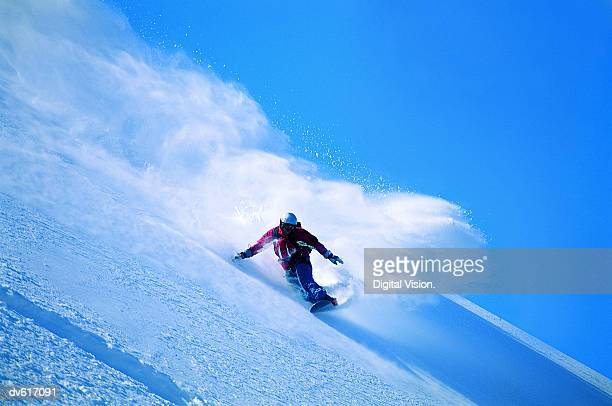 man snowboarding - snowboarding stock pictures, royalty-free photos & images