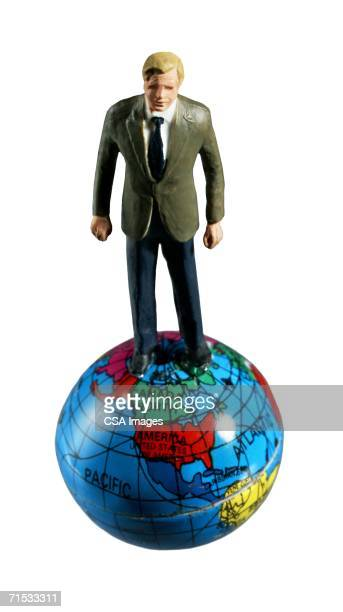 Man Standing On Top Of The World