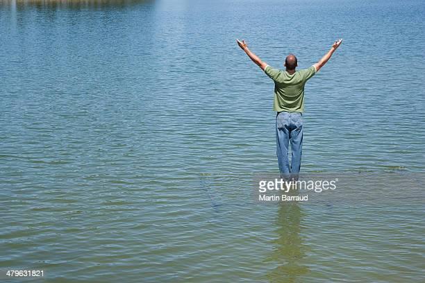 World's Best Walking On Water Stock Pictures, Photos, and ...
