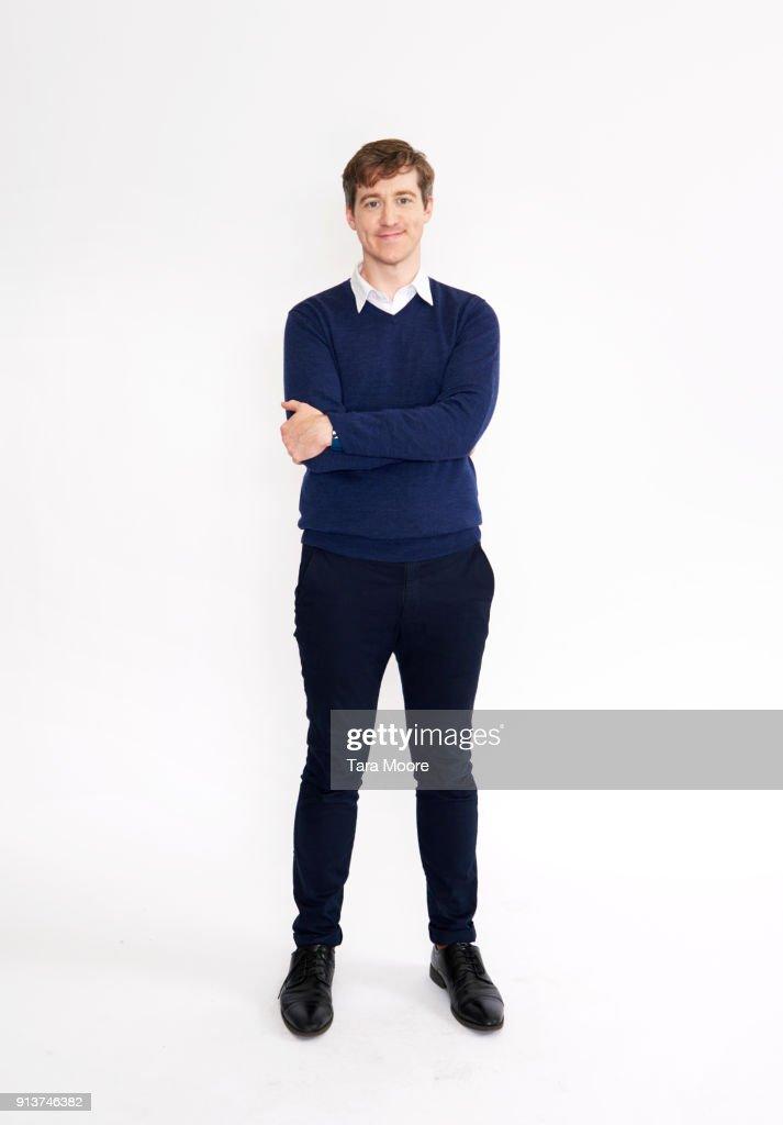 man standing : Stock-Foto