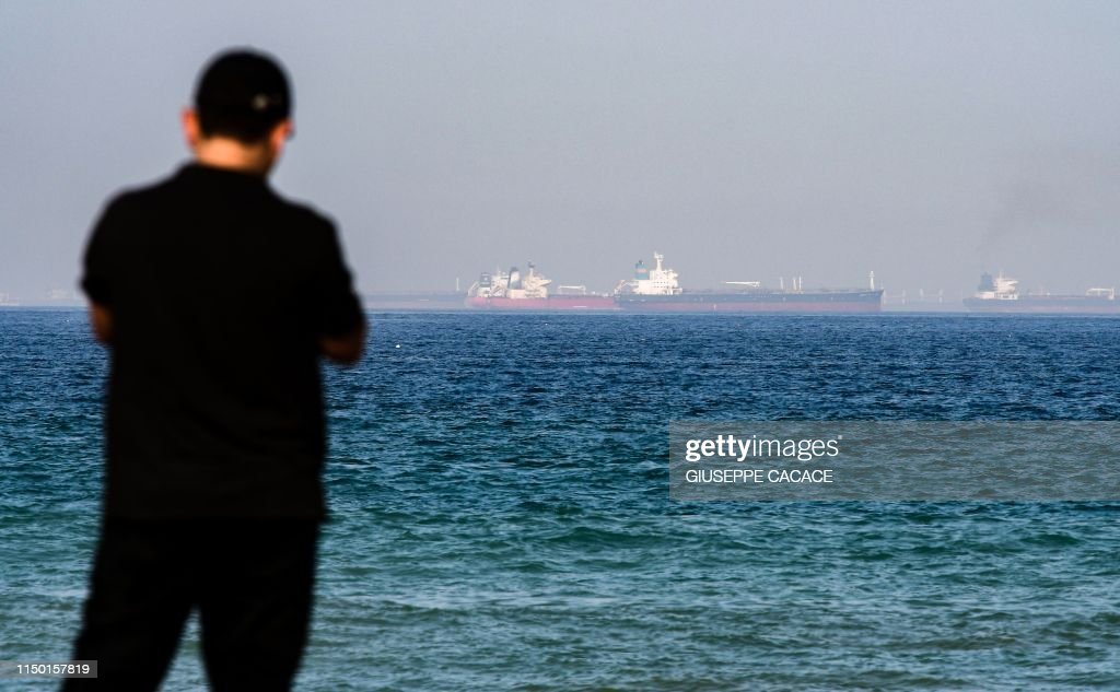 UAE-GULF-SHIPPING-OIL-US-IRAN : News Photo