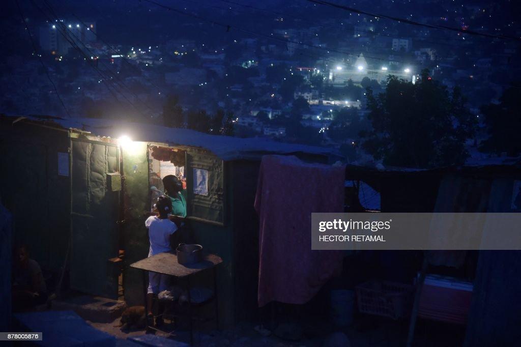 TOPSHOT-HAITI-ENVIRONMENT : News Photo
