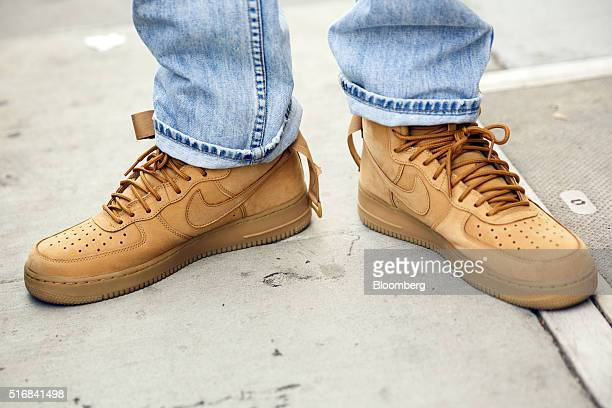 294 Nike Air Force 1 Sneaker Photos And Premium High Res Pictures