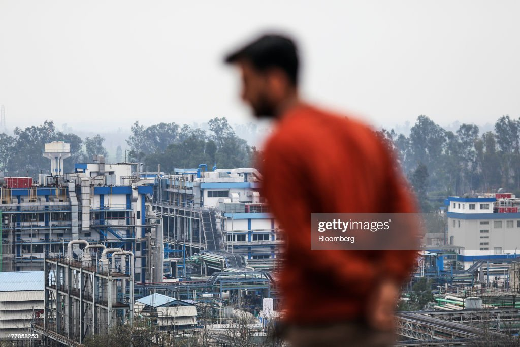 A man stands in front of a Ranbaxy Laboratories Ltd facility in Toansa Punjab India on Monday Feb 10 2014 Americas $93 billion pipeline of generic...