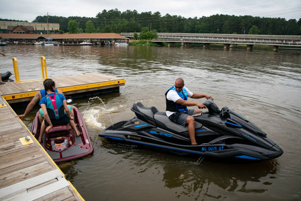 NC: Memorial Day Weekend Celebrated At Lake Tillery In North Carlolina During Coronavirus Pandemic
