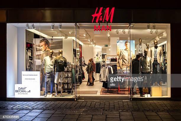 H&M man store