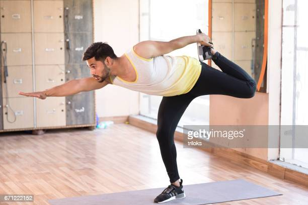 Indian Man Doing Yoga Stock Pictures Royalty Free Photos Images