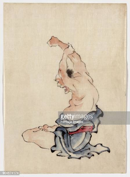 Man Stretching published 18301850