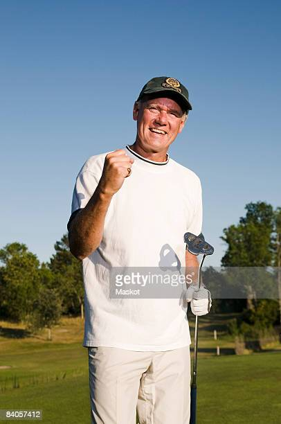 Man succeed with golf