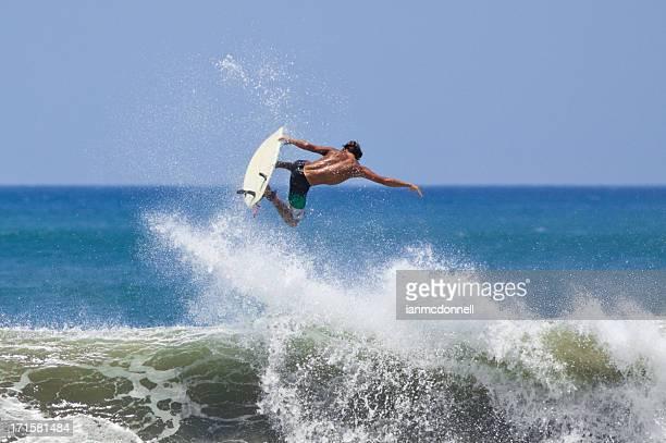 ar grande - surfe - fotografias e filmes do acervo