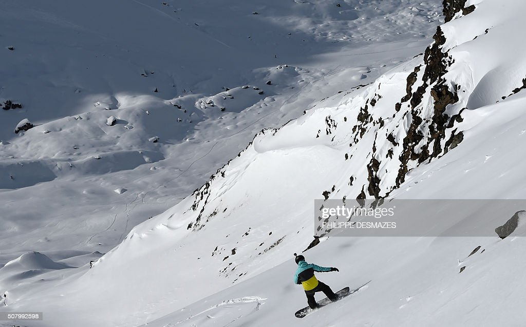 FRANCE-TOURISM-HOLIDAYS-SKI-RESORT : News Photo