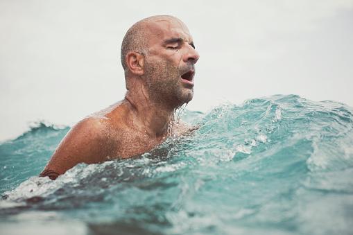 Man swimming - gettyimageskorea