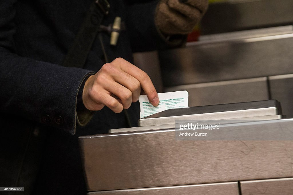 New York City's Subway Fare Increases, Amid Rider Dissatisfaction Over Delays And Outages : News Photo
