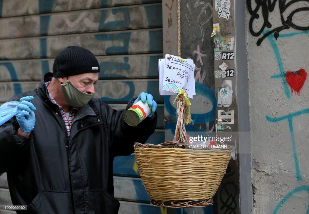 ITALY-HEALTH-VIRUS : Foto di attualità