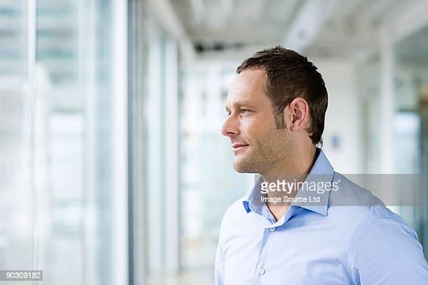 Man thinking