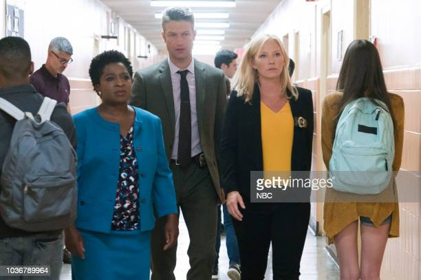UNIT Man Up Episode 2001 Pictured Lisha McKoy as Rebecca Chaster Peter Scanavino as Dominick Sonny Carisi Kelli Giddish as Detective Amanda Rollins