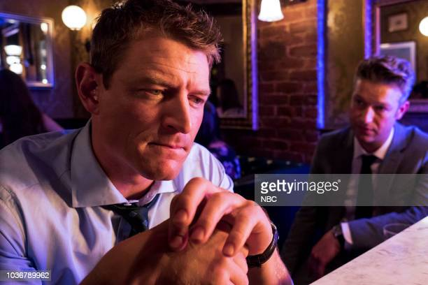 UNIT Man Up Episode 2001 Pictured Philip Winchester as Peter Stone Peter Scanavino as Dominick Sonny Carisi