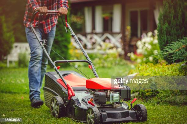 Push Mower Stock Pictures Royalty Free Photos Images Getty Images