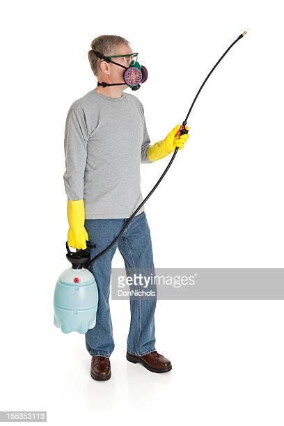 Man Using a Sprayer