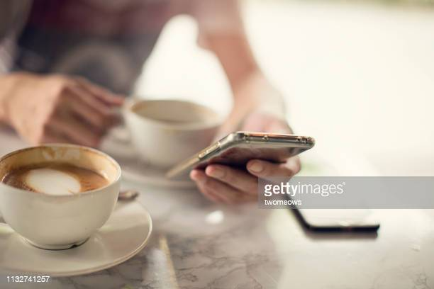 man using mobile phone. - human body part stock pictures, royalty-free photos & images