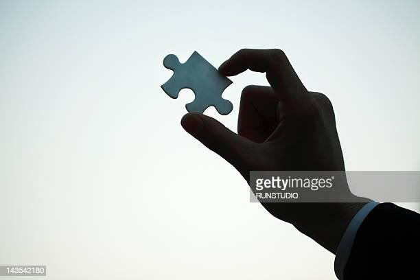 Man using Puzzle