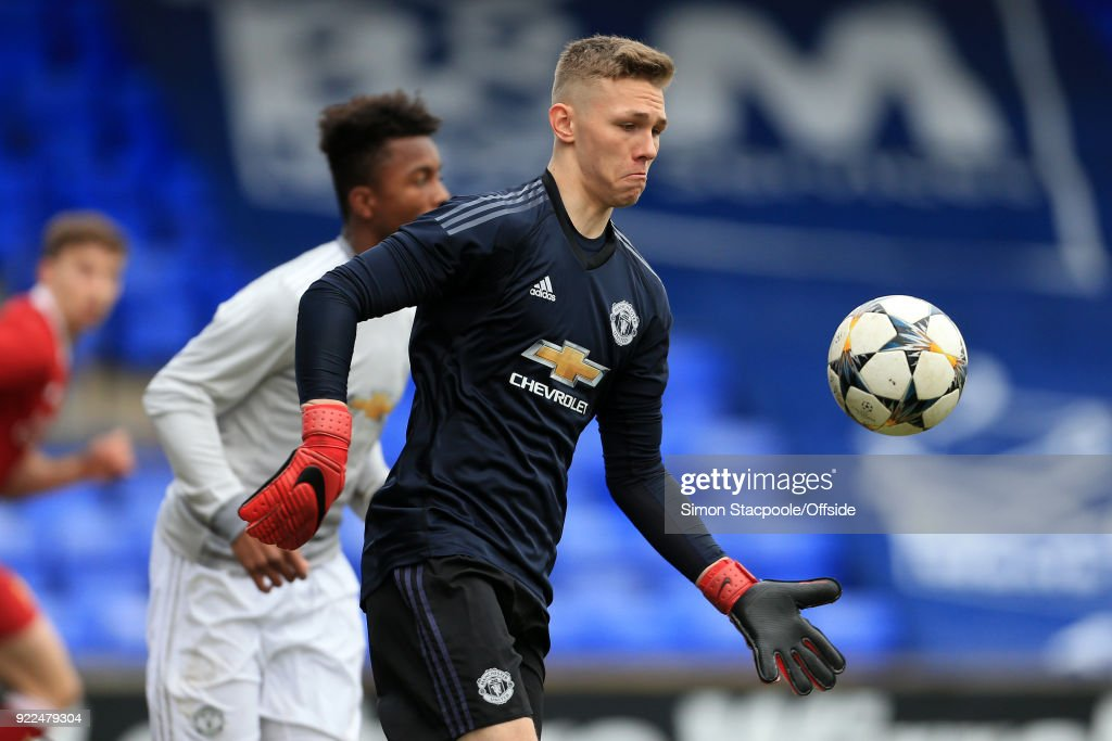 Liverpool v Manchester United - UEFA Youth League : News Photo