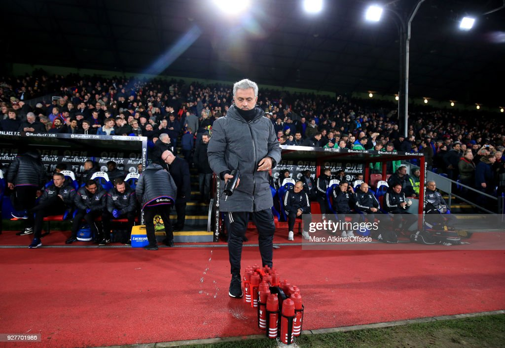 Crystal Palace v Manchester United - Premier League : News Photo